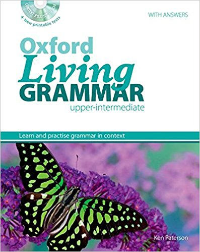 Oxford Living Grammar Upper Intermediate book cover