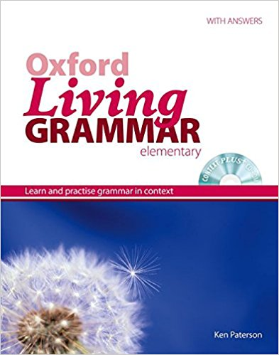 Oxford Living Grammar Elementary book cover