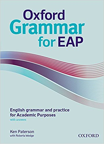 Oxford Grammar for EAP book cover